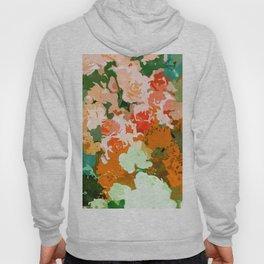 Velvet Floral Hoody