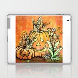 Spunky Pumpkin Fairies Laptop & iPad Skin