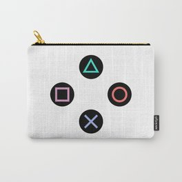 Play with Playstation Controller Buttons Carry-All Pouch