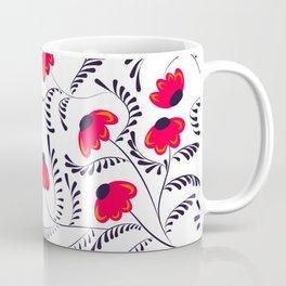 Beauty simple seamless floral pattern swirl Coffee Mug