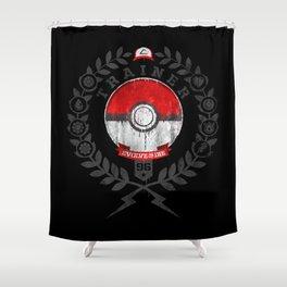 PokéTrainer Shower Curtain
