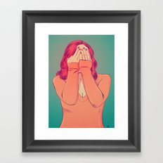 Shame Framed Art Print