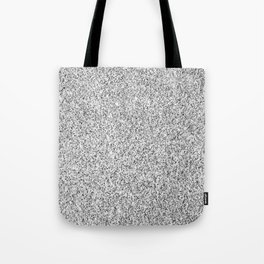 Beautiful Silver glitter sparkles Tote Bag