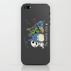 The Spirits Club iPhone & iPod Skin