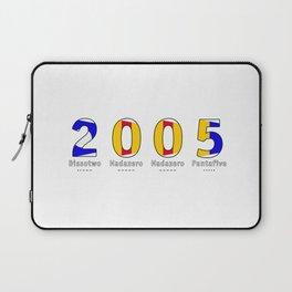 2005 - NAVY - My Year of Birth Laptop Sleeve