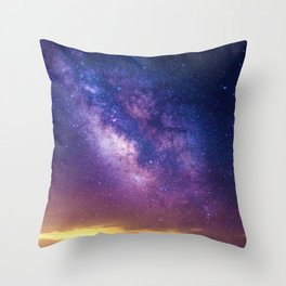 Sky at Night (Color) Throw Pillow