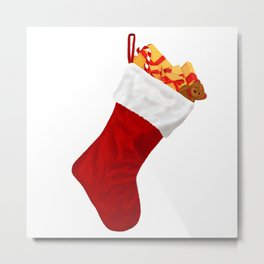 Christmas Stocking Metal Print