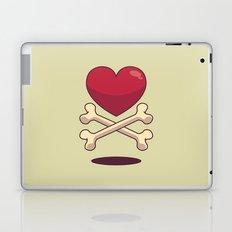 bone up on love Laptop & iPad Skin