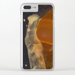 joelarmstrong_rust&gold_017 Clear iPhone Case