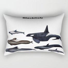 Blackfish Rectangular Pillow