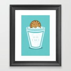 Hot Tub Cookie Framed Art Print