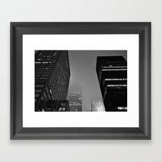 Midnight Noir Framed Art Print