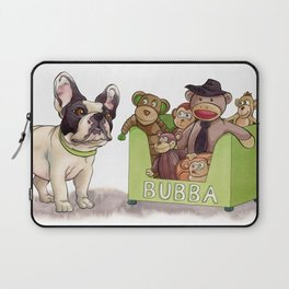 Bubba and His Monkey Toys Laptop Sleeve