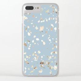 Terrazzo 1 Clear iPhone Case