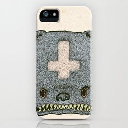 Evil Ted iPhone Case