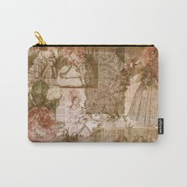 Vintage & Shabby Chic - Victorian ladies pattern Carry-All Pouch
