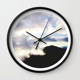 AROUND THE WORLD // HALEAKALA Wall Clock