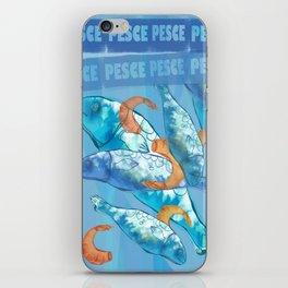 Fish, Pesce, Blubb iPhone Skin