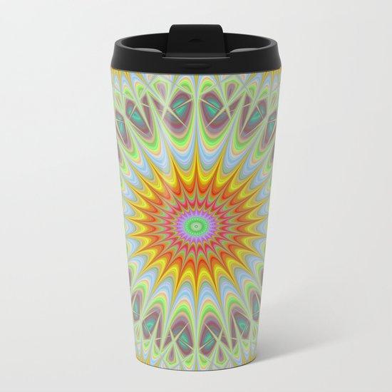 Sun Metal Travel Mug