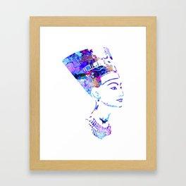 Queen Nefertiti Framed Art Print