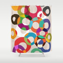 Loop Hoop Shower Curtain