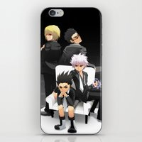 hunter x hunter iPhone & iPod Skins featuring Hunter x Hunter: Mafia by akayashi