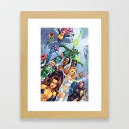 X-WOMEN Framed Art Print