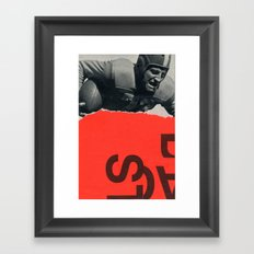 offense Framed Art Print