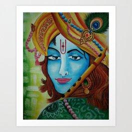 Hare Krishna Art Print