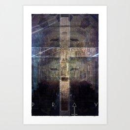 Pray Art Print