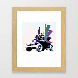 Fabmobile B Framed Art Print