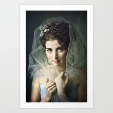 The Lady of Pemberly Art Print