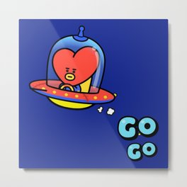Tata - BTS - BT21 (part 2) Metal Print