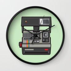 #43 Polaroid Camera Wall Clock