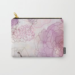 Rosy Posy Carry-All Pouch