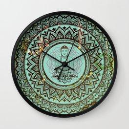 buddha lotus Wall Clock