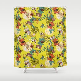 Folkloric Shower Curtain