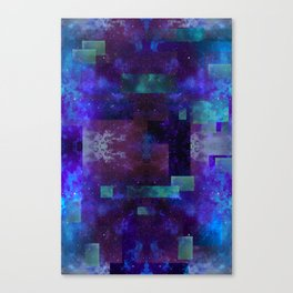 Fractured Space: Xenon Canvas Print