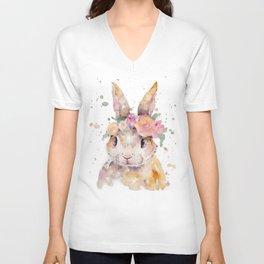 Little Bunny Unisex V-Neck