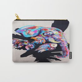 Rainbow Animals Carry-All Pouch
