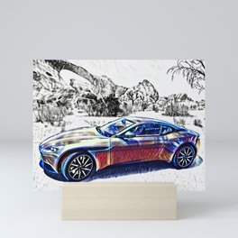 Travel In Style Mini Art Print