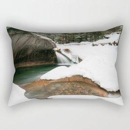 Lonesome Lake Trail Rectangular Pillow