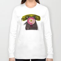 booty Long Sleeve T-shirts featuring Booty Call Marylin 2 by KEFLIONE