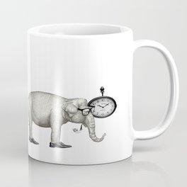Elefante con gafas, espera. Coffee Mug