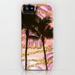 Vibrant Palms iPhone Case