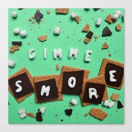 Gimme Smore Canvas Print