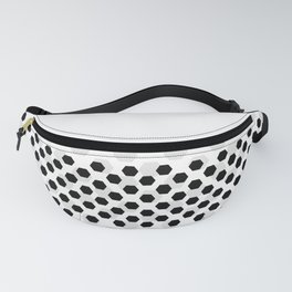 Backgroun of soocer,  football. Traditional sport texture of ball. Fanny Pack