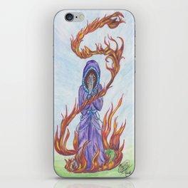 Focus- in watercolor iPhone Skin
