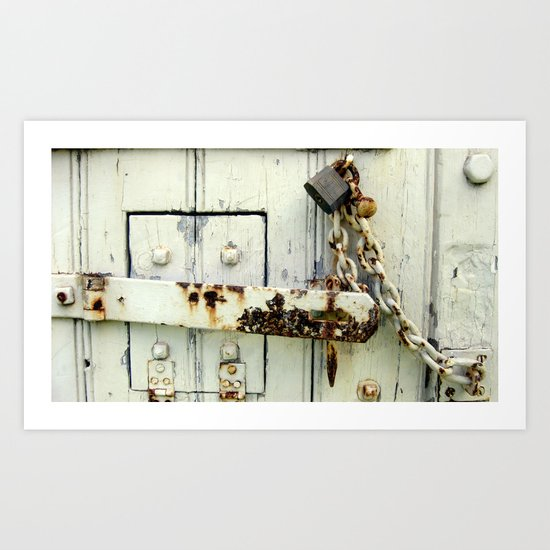 Latched Art Print
