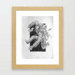backpacking Framed Art Print